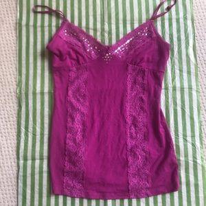 NWOT crystal embellished Guess camisole